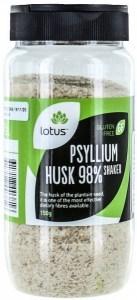 Lotus Psyllium Husks 98% Shaker 150g