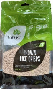 Lotus Brown Rice Puffs 300g