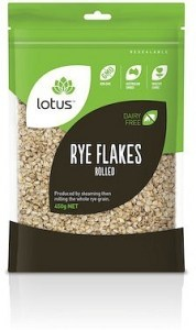 Lotus Rye Flakes Rolled 450g