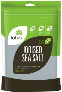Lotus Iodised Sea Salt 500g
