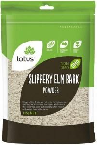 Lotus Slippery Elm Bark Powder  125gm