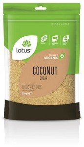 Lotus Sugar Coconut Organic  500g