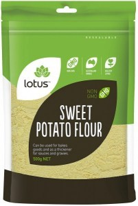 Lotus Sweet Potato Flour 500g