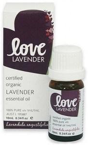 Love Oils Organic Bulgarian Lavender Essential Oil 10ml