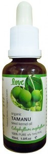 Love Oils Organic Tamanu Seed Kernel Oil 30ml