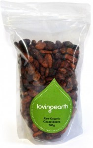 Loving Earth Cacao Beans  500g