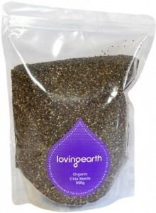 Loving Earth Chia Seeds 950g