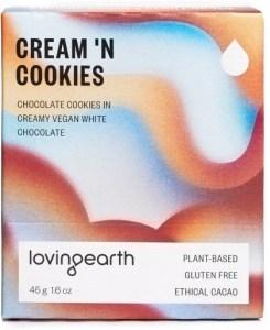 Loving Earth Cream n Cookies Chocolate Bars 11x45g