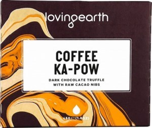 Loving Earth Organic Coffee Ka-Pow Chocolate Bar  45g