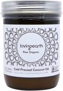 Loving Earth Organic Cold Pressed Coconut Oil 450ml