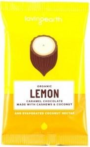 Loving Earth Organic Lemon Caramel Chocolate 16x30g