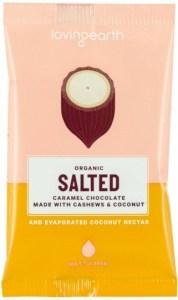 Loving Earth Organic Salted Caramel Chocolate 16x30g
