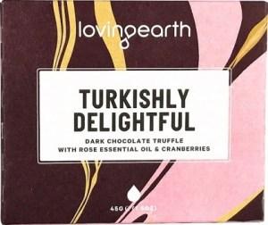Loving Earth Organic Turkishly Delightful Chocolate Bar  45g