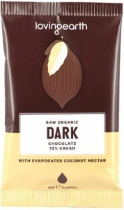 Loving Earth Raw Organic Dark Chocolate 16x30g