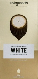 Loving Earth Raw Organic White Chocolate  80g