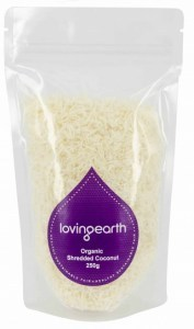 Loving Earth Shredded Coconut 250g