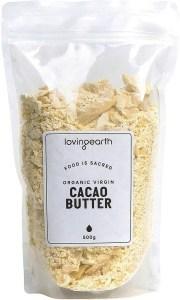 Loving Earth Virgin Cacao Butter 500g