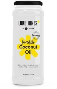 Cocolife Luke Hines Organic Incredible Coconut Oil 475ml