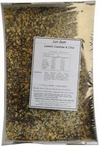 Luv Sum Raw Lemon Cashew Chia Slice (Box of 15)