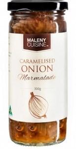 Maleny Cuisine Caramelised Onion Marmalade 300g