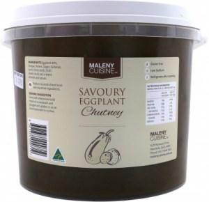 Maleny Cuisine Savoury Eggplant Chutney 2.2L