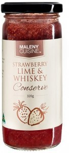 Maleny Cuisine Strawberry, Lime & Whisky Conserve 320g