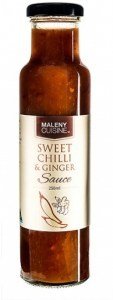 Maleny Cuisine Sweet Chilli & Ginger Sauce 250ml