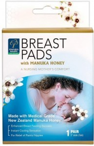 Manuka Health Breast Pads with Manuka Honey 1Pair