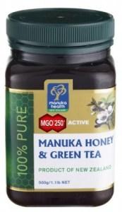 Manuka Health MGO250+ Honey & Green Tea Extract 500g