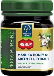 Manuka Health Premium Manuka Honey & Green Tea Extract 250g