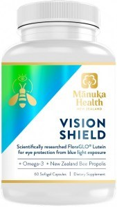 Manuka Health Vision Shield + FloraGLO 60 Softgel Caps