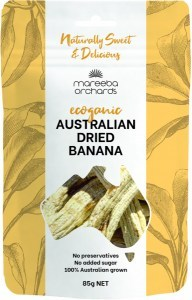 Mareeba Orchards Ecoganic Australian Dried Banana 85g