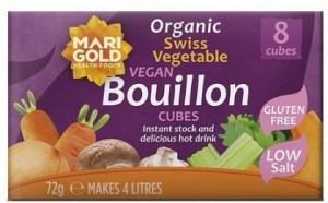 Marigold Swiss Vegetable Bouillon Cubes Low Salt (Purple) 72g