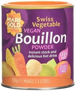 Marigold Swiss Vegetable Bouillon Reduced Salt (Purple) 150g