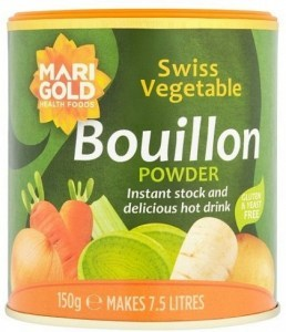 Marigold Swiss Vegetable Bouillon Powder Yeast Free (Green) 150g