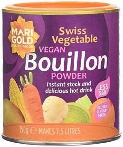 Marigold Swiss Vegetable Bouillon Reduced Salt (Purple) 150g