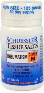 Schuessler Tissue Salts Comb M - Rheumatism 125 Tabs