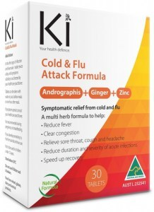 Martin & Pleasance Ki Cold & Flu Attack 30tabs