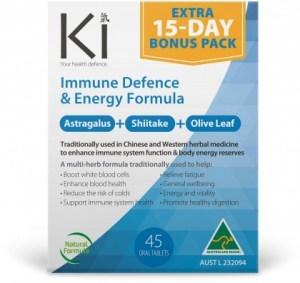 Ki Immune Defence & Energy Formula 30 tabs