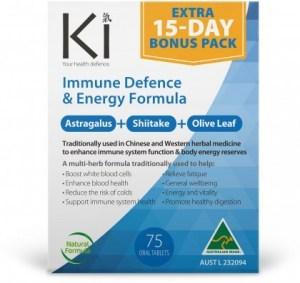 Ki Immune Defence & Energy Formula 60 tabs