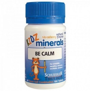 Kidz Minerals Be Calm 100 Tabs