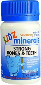 Kidz Minerals Strong Bones & Teeth 100 Tabs