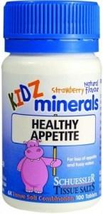 Kidz Minerals Healthy Appetite 100 Tabs
