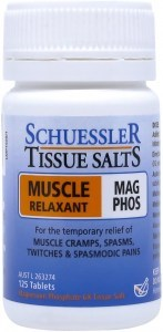Schuessler Tissue Salts Mag Phos - Muscle Relaxant 125 Tab