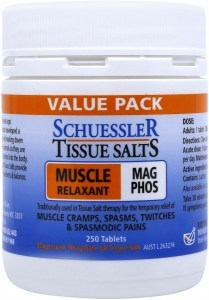 Schuessler Tissue Salts Mag Phos - Muscle Relaxant 250 Tab