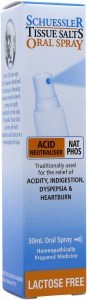 Schuessler Tissue Salts Oral Spray Nat Phos - Acid Neutraliser 30ml