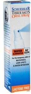 Schuessler Tissue Salts Oral Spray Nat Sulph - Water Eliminator 30ml