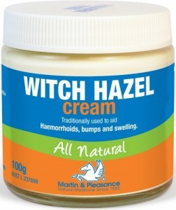 Martin & Pleasance Witch Hazel Cream All Natural x100gm