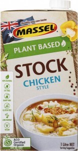 Massel Organic Liquid Stock Chicken Style 1L