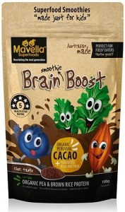 Mavella Superfoods Smoothie for Kids Brain Boost Choc Taste Powder 100g